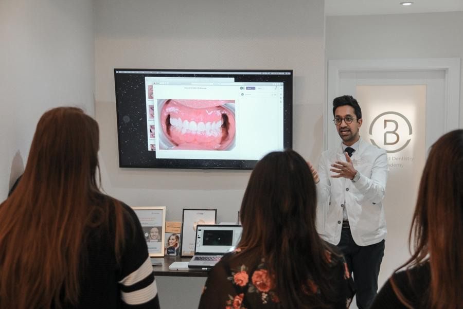treat fluorisis or discolouration with veneers